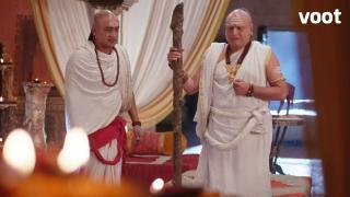 Bindusara finds Shubhadrangi's body