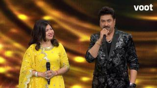 Alka-Kumar Sanu grace the show