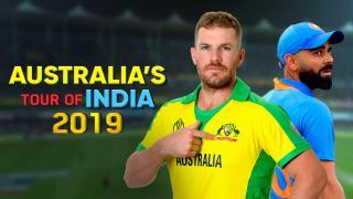 Australia's Tour of India 2019