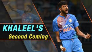 Khaleel's second chance with Team India