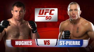 M. Hughes vs G. St-Pierre