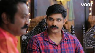 Surya talks to Utthaman about Gayathri