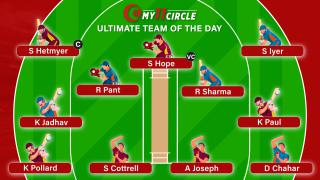 My11Circle Ultimate Team of the Day: India v West Indies, 1st ODI