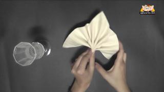 Fold a Goblet Napkin