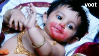 Hanuman annihilates Vakri