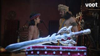 Akramak tells Ashoka not to participate in the royal games