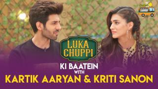 Karthik Aryan & Kriti Sanon For Lukka Chuppi