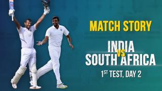 IND v SA, 1st Test, Day 2, Match Story: Mayank's double ton | Ashwin-Jadeja Strike