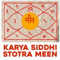 Karya Siddhi Stotra Meen