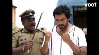 Ashwini threatens the inspector