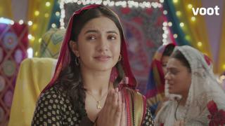 Vidya gets divine help!