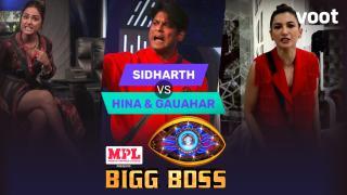 Sidharth takes on Hina & Gauahar