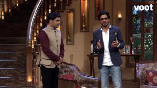 SRK gets his 'Chennai Express' on CNWK station.