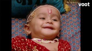 Krishna transforms an old lady!