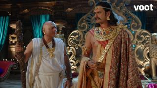 Bindusara questions Chanakya