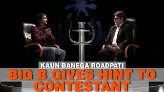 Big B Gives Hint To A Contestant