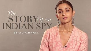 The Story of an Indian Spy by Alia Bhatt