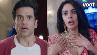 Tusshar and Mallika's freaky encounter!