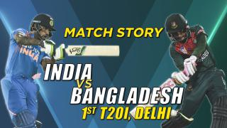 IND v BAN, 1st T20I, Match Story: Mushfiqur helps Bangladesh create history
