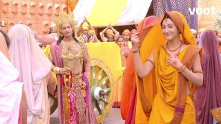 Sita inches away from Ram!