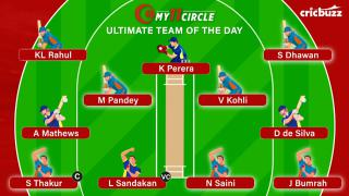 My11circle Ultimate Team of the Day: India v Sri Lanka, 3rd T20I