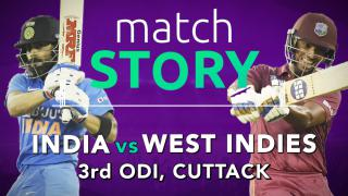 IND v WI, 3rd ODI, Match Story: India clinch a thriller