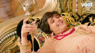 Salim ridicules Akbar's throne