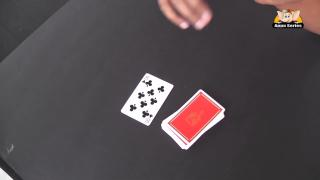 Black & Red Colour Card Trick