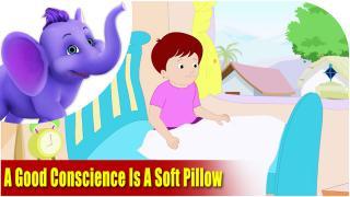 A good conscience is a soft pillow