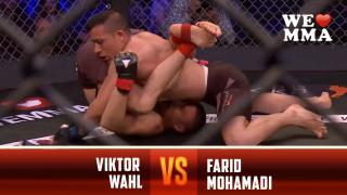 Viktor Wahl vs Farid Mohamadi