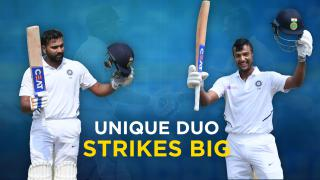 Rohit and Mayank - A partnership to remember