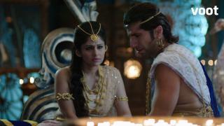 Bindusara saves Ashoka