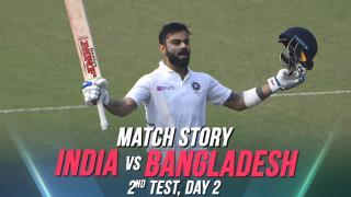 IND v BAN, 2nd Test, Day 2, Match Story: Bangladesh keep India at bay