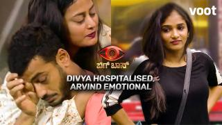 Divya hospitalised, Arvind emotional