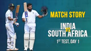 IND v SA, 1st Test, Day 1, Match Story: Rohit Sharma's ton | Dominant Indian Openers