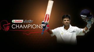 Castrol Activ Champions: Rahul Dravid
