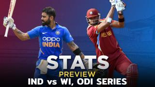 India vs West Indies, ODI series: Stats Preview