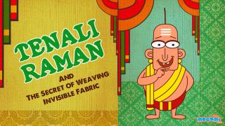 Tenali Raman The Secret of Weaving Invisible Fabric