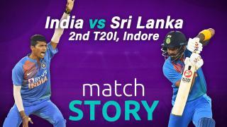 IND v SL, 2nd T20I, Match Story: India steamroll Sri Lanka